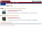 Catalog of English texts page